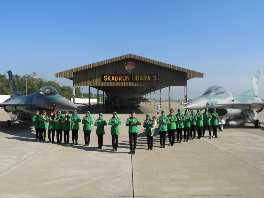 Hanggar Skuadron Udara Lanud Iswahjudi, Kedatangan Tamu Istimewa