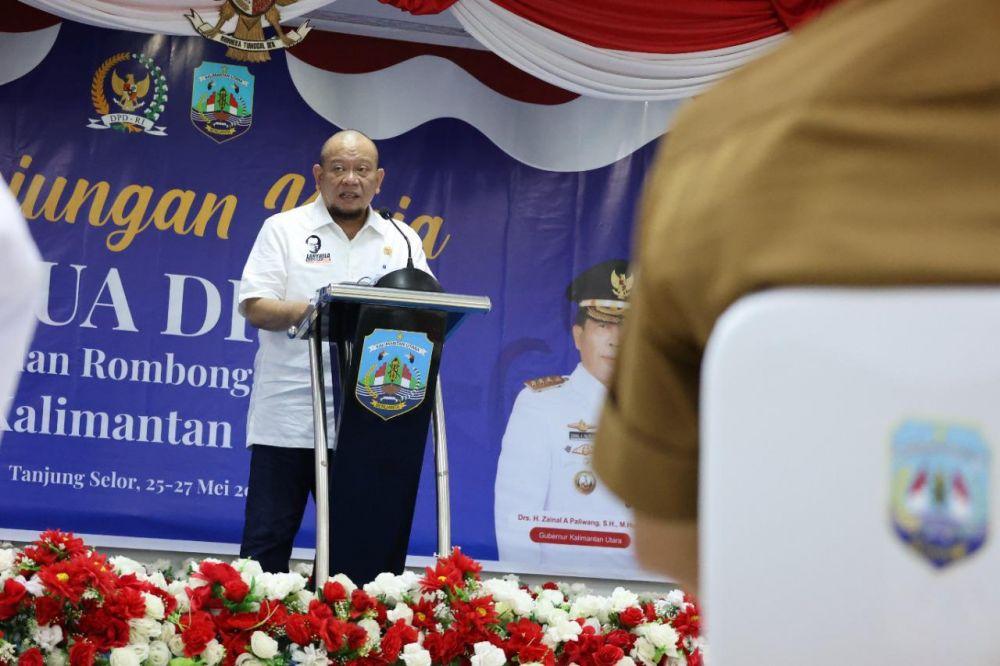 Ketua DPD RI Minta Nasib Pedagang Diperhatikan, Ruang Isoman - Nafkah