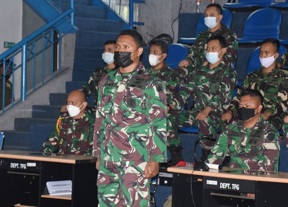 Pandemi Tak Halangi Siswa Pusdiklapa Kodiklat TNI AL Selesaikan Lattek