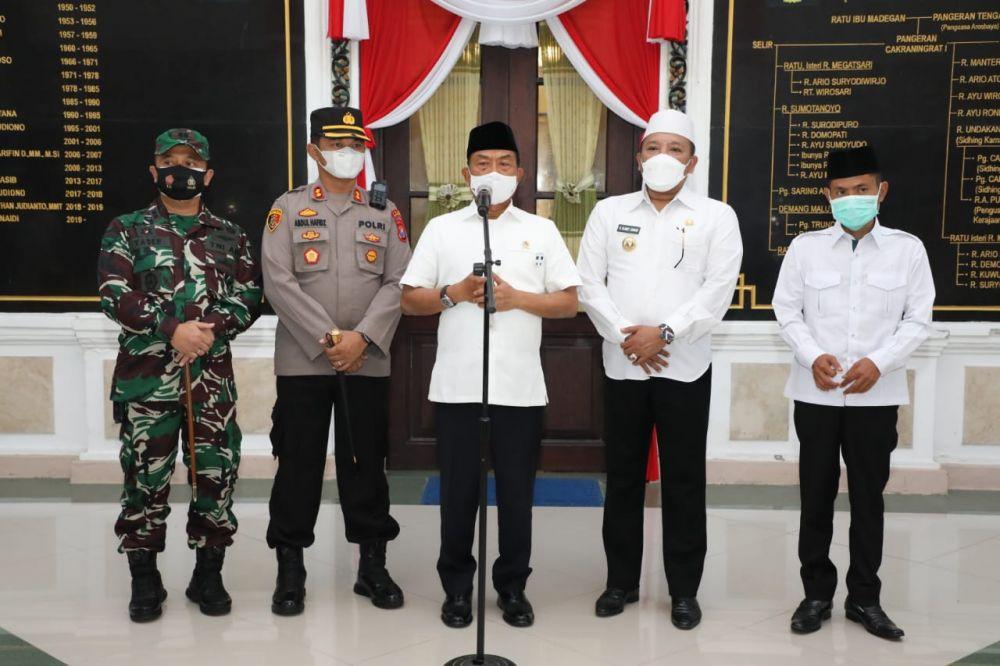 Kinerja Forkopimda Sampang Dapat Apresiasi Kepala Staf Kepresidenan RI