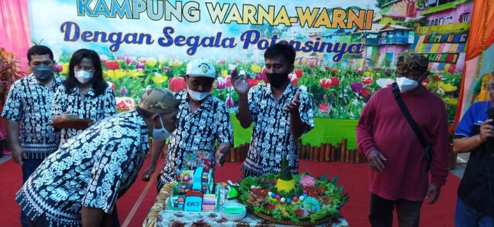 Geliat Warna Warni Jodipan Fest, PPKM Level 2 Siap Buka Kampung Wisata