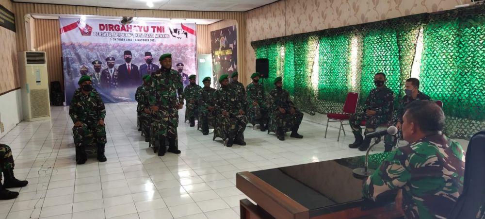 Kodim 0817 Gresik Gelar Katpuanter Bintara Abit Dikjurba Otsus TNI AD