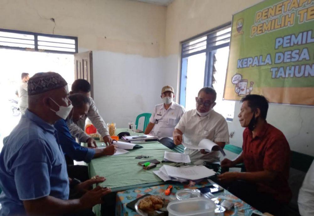 Rapat Bersama Tahapan Penetapan Daftar Pemilihan Tetap Desa Ranggasari