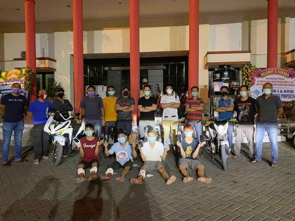 Jelang Hari Bhayangkara, Jatanras Polrestabes Surabaya Tangkap Curas