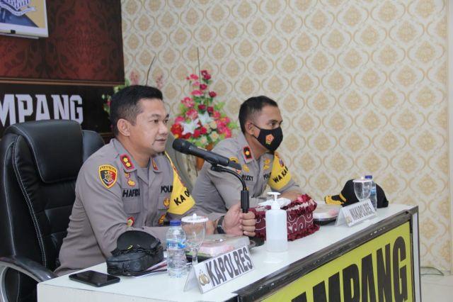 Kapolres Sampang Pimpin Latihan Pra Ops Zebra Semeru