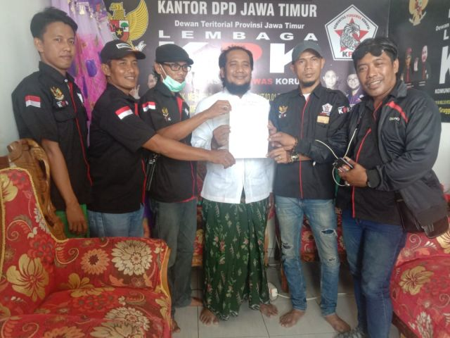 H. Sujeie Diangkat menjadi Ketua L.KPK Kabupaten Sampang