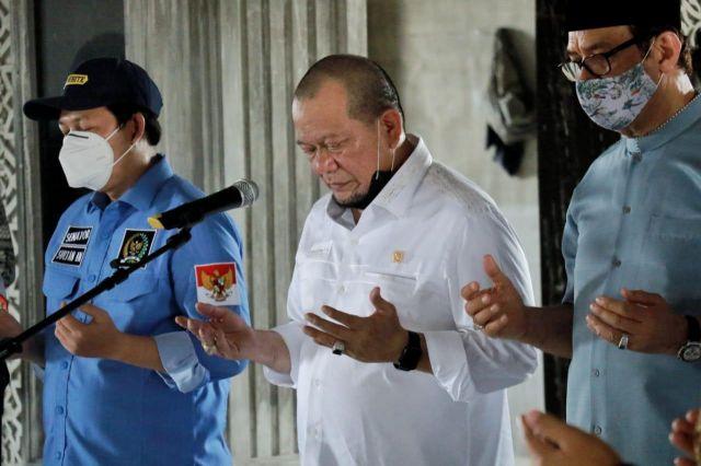 Doa Ketua DPD RI untuk Kesembuhan Ketum PBNU