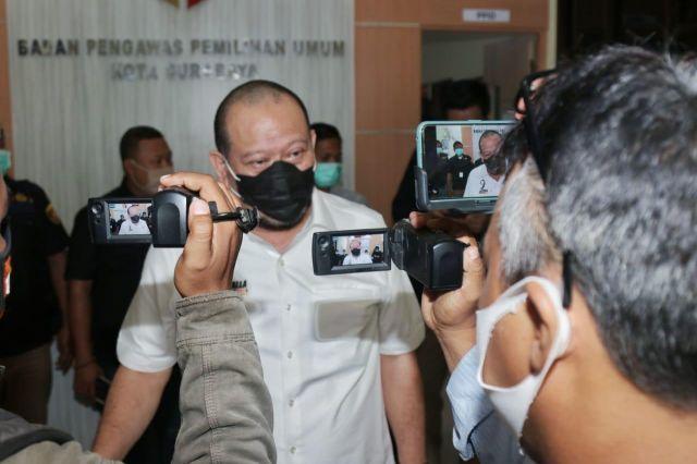 LaNyalla Apresiasi Kerja Bawaslu Jatim dan Surabaya