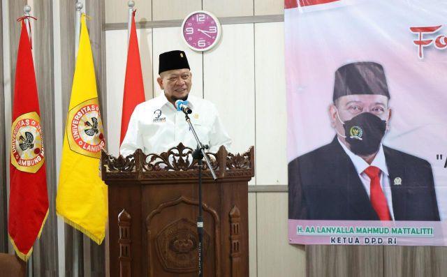 Ketua DPD RI Dorong Jagoan Tani Banyuwangi Ciptakan Petani Milenial