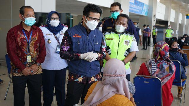 Bandara Juanda Tambah Layanan Sentra Vaksin Covid-19