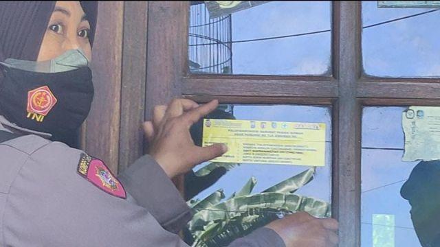 Polresta Banyuwangi dan 25 Polsek Jajaran Pasang Stiker Contact Person