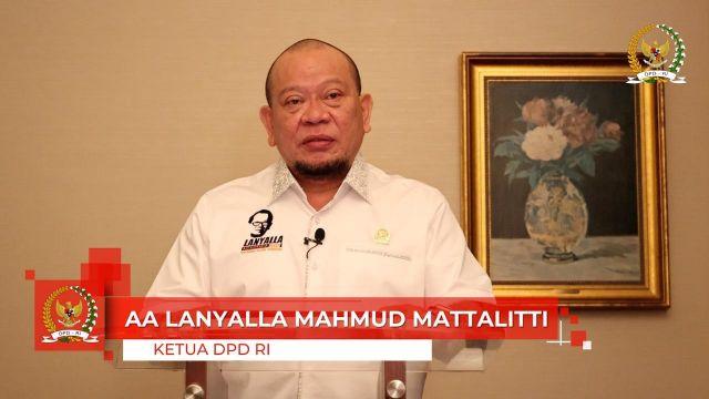 Ketua DPD RI: Hikmah Terbesar Pandemi Adalah Fundamental Bangsa