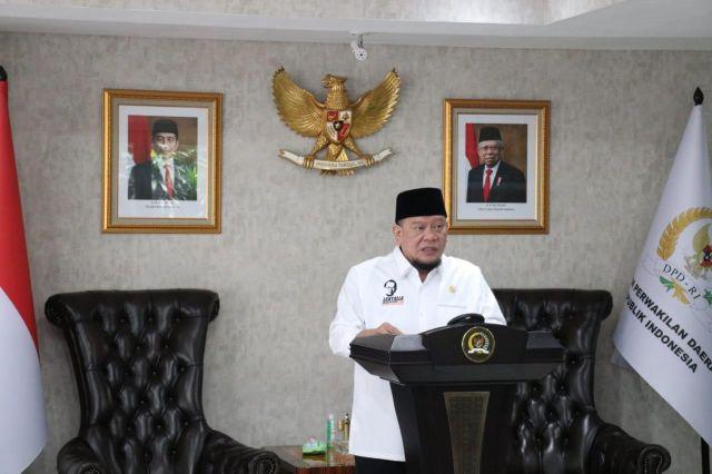 Galang Dana, Ketua DPD RI Berharap Laboratorium Unand Dapat Dukungan