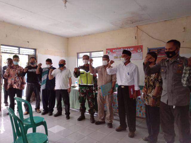 Pelaksanaan Acara Penetapan Bagi Calon Kepala Desa di Ranggasari