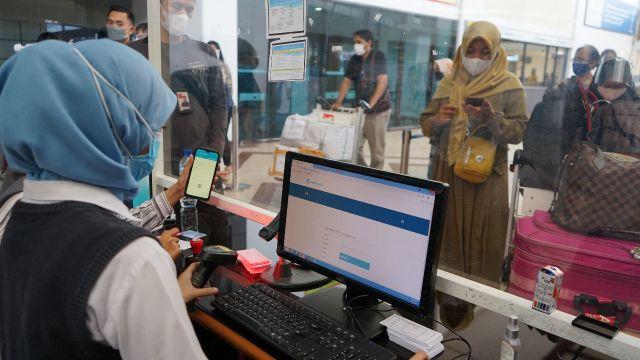Aplikasi PeduliLindungi Telah di Terapkan Bandara Juanda