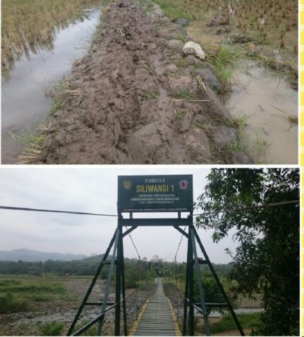 Warga Desa Ranggasari Keluhkan Akses Jalan Rusak di Cikandung