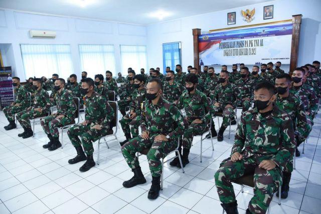 Pasis Dikmapa PK TNI AL Angkatan XXVlll Dapat Bekal Kadisminpersal