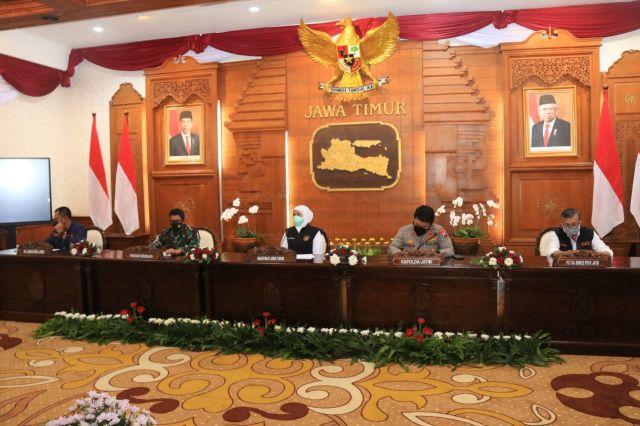 Provinsi di Indonesia, Jatim Capai Level 1 Penanganan Covid-19
