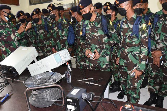 Siswa Satdik 2 Makassar Lattek Pekan Integrasi di Bumimoro Kodiklatal