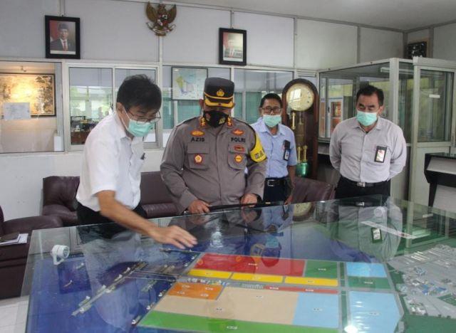 Kapolres Gresik - Pemkab Bersinergi dan Silaturahmi ke Kawasan Maspion
