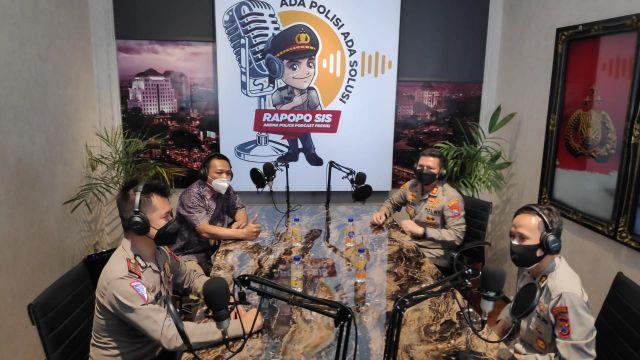 Arema Police Podcast Presisi Polresta Malang Kota Launching Rapopo Sis
