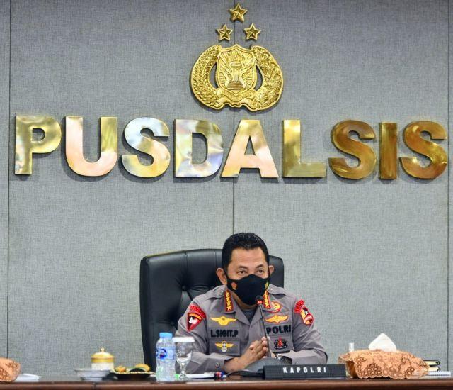 Kapolri: Jangan Ragu Pecat dan Pidanakan Anggota yang Melanggar Aturan