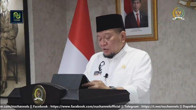Ketua DPD RI Sampaikan Peran Konkret Pesantren Bagi Negara di Rakernas