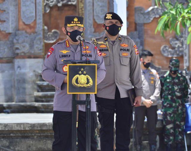 Kapolri Pimpin Apel Pasukan Sambut Wisman di Bali, Pintu Internasional