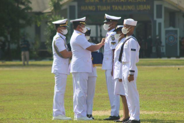 KASAL Pimpin Tupdik Dikmaba dan Dikmata TNI AL Satdik 1 Tanjung Uban