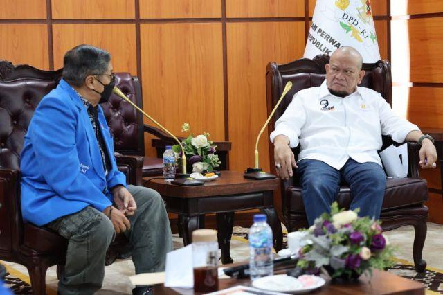 Temui LaNyalla, PP IPKI Nyatakan Dukungan Penguatan DPD RI