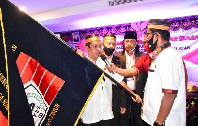 Sah !, Ir.H.Muslim Hamzah Ketua BPW KKSS Provinsi Jawa Timur